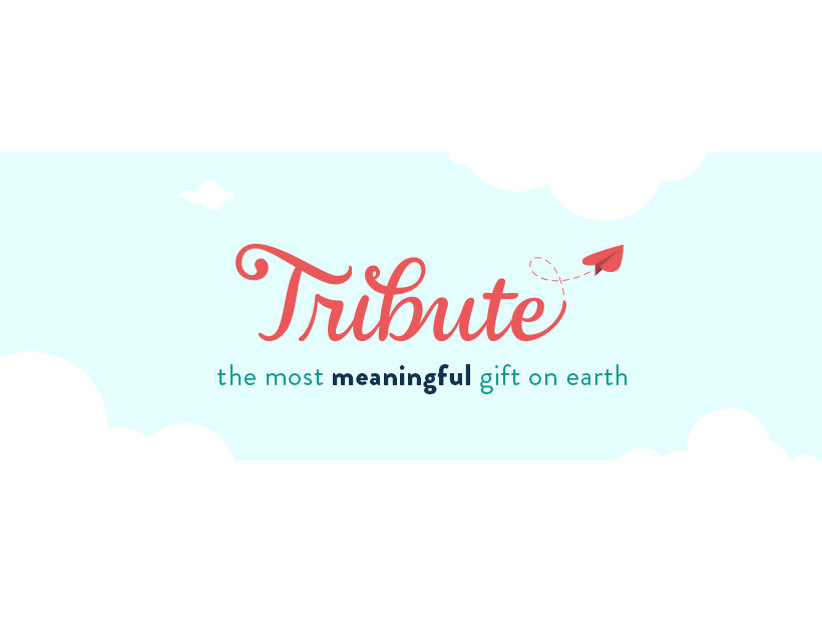 Tribute: The most meaningful gift on earth text displayed on sky background