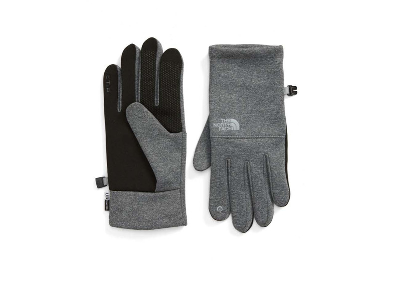 the north face gray gloves