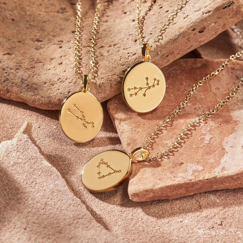 Constellation pendant necklaces daughter-in-law gift idea