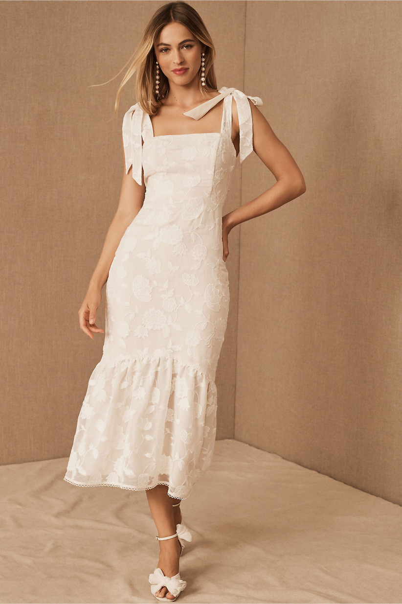 lace courthouse wedding dress
