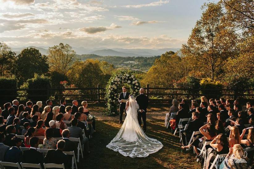 crest center nc wedding