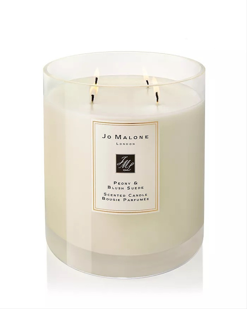 jo malone london peony candle for 12th year wedding anniversary gift