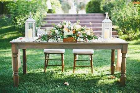 30 Rustic Wedding Centerpieces That Go Beyond the Basic Mason Jar