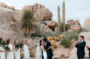 The 8 Best U.S. Destinations for Desert Weddings