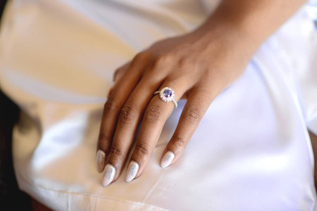 34 Non-Diamond Engagement Rings That Still Have Plenty of Sparkle