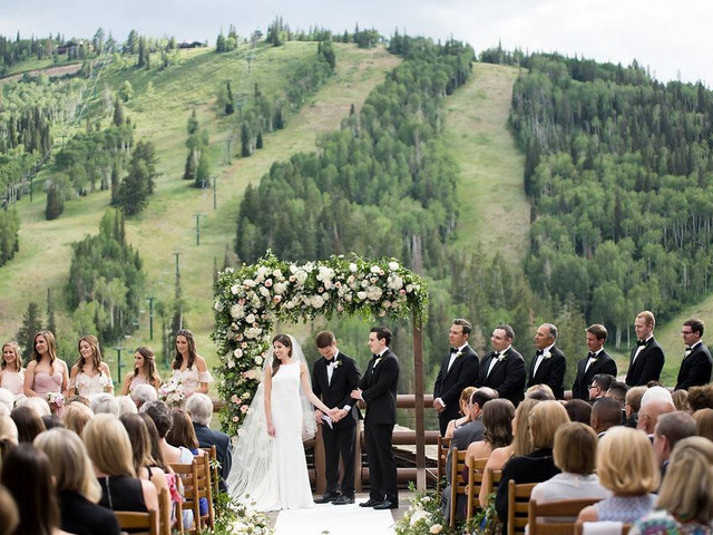 The Most Scenic Mountain Wedding Venues in Utah