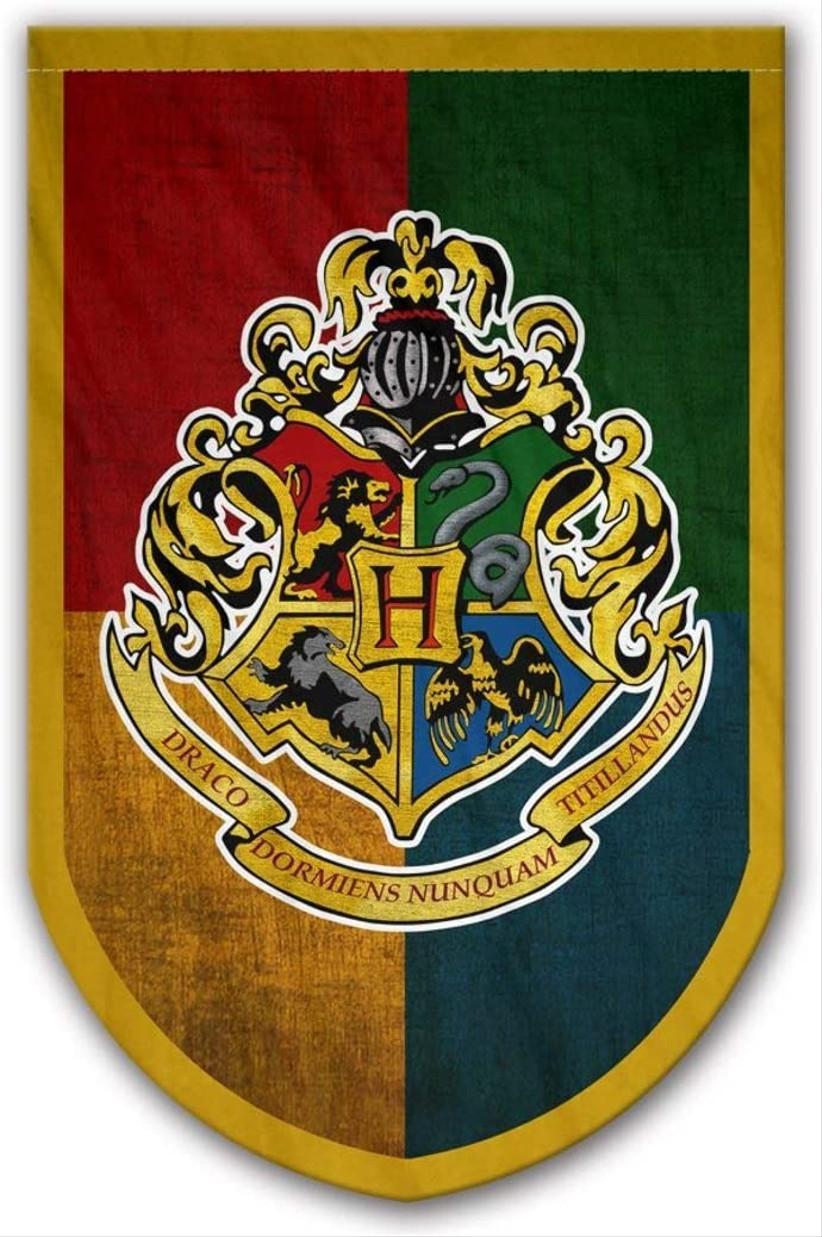 hogwarts houses flag banner
