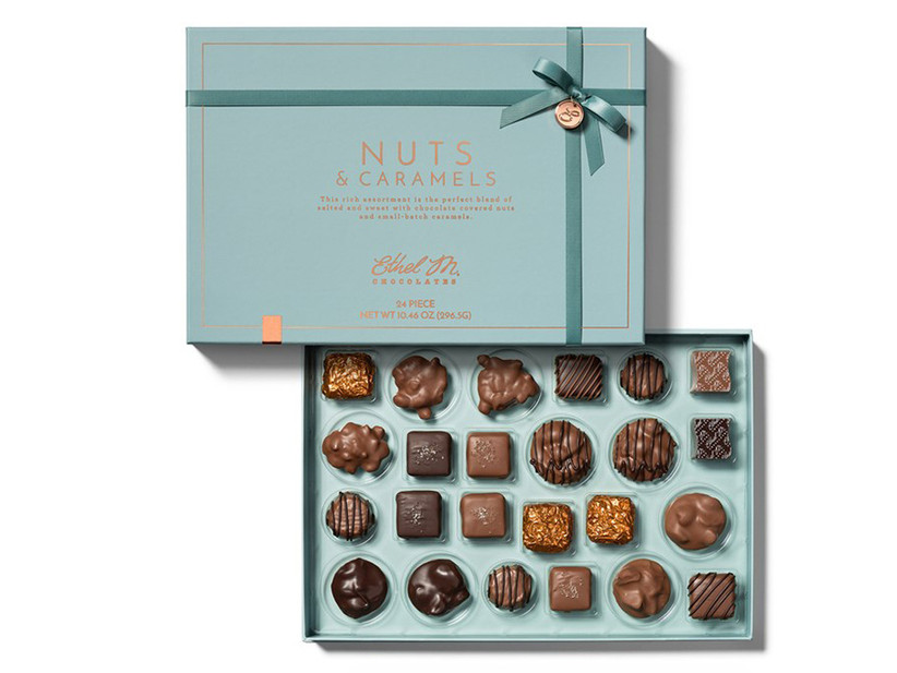 ethel m chocolates for 11th year wedding anniversary gift
