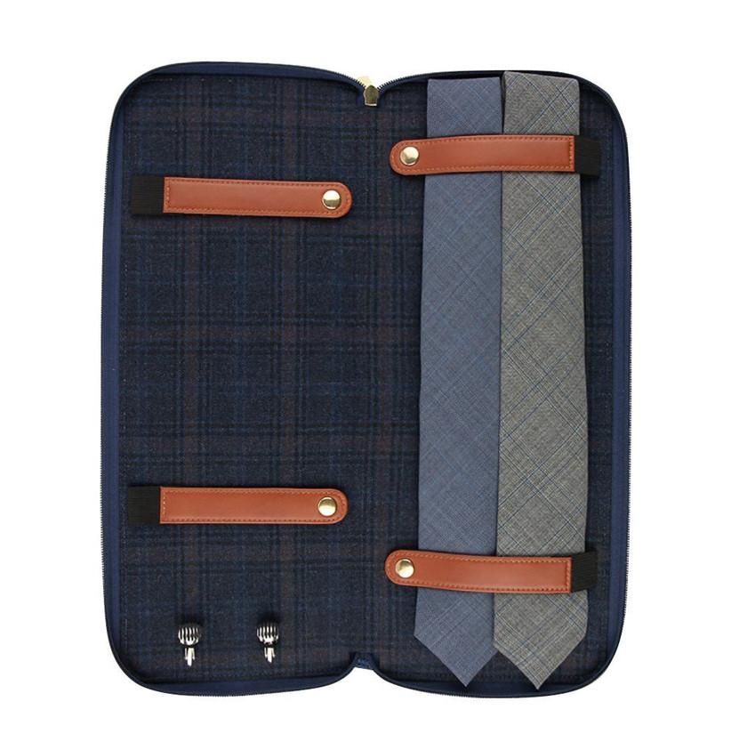 travel tie case groomsmen gift idea