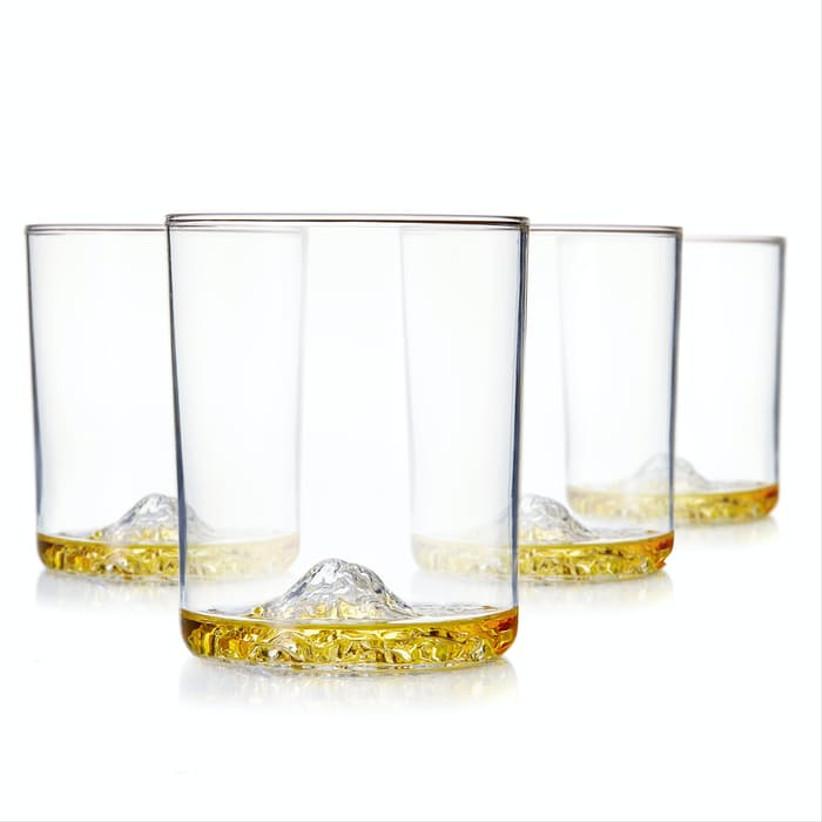 mountain range glasses