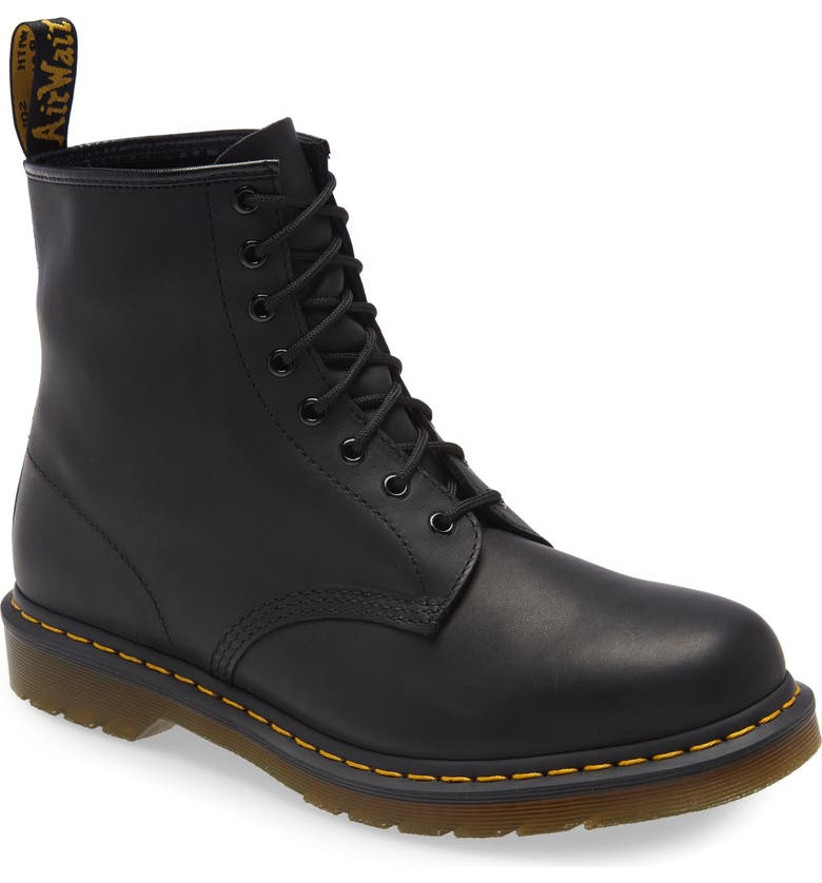 leather doc marten boots