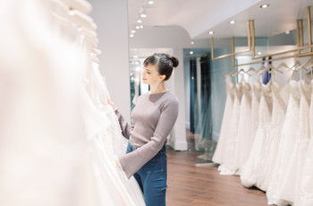 How to Shop for a Wedding Dress Like a Total Pro