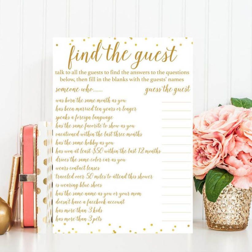 22 Shoppable Bridal Shower Game Ideas To Keep The Party
