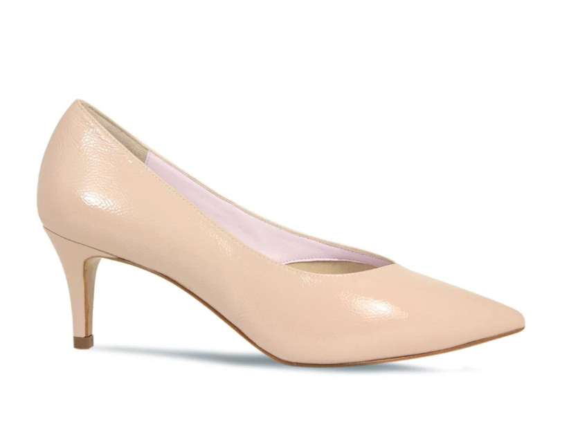 Wedding Guest Shoes nude pumps