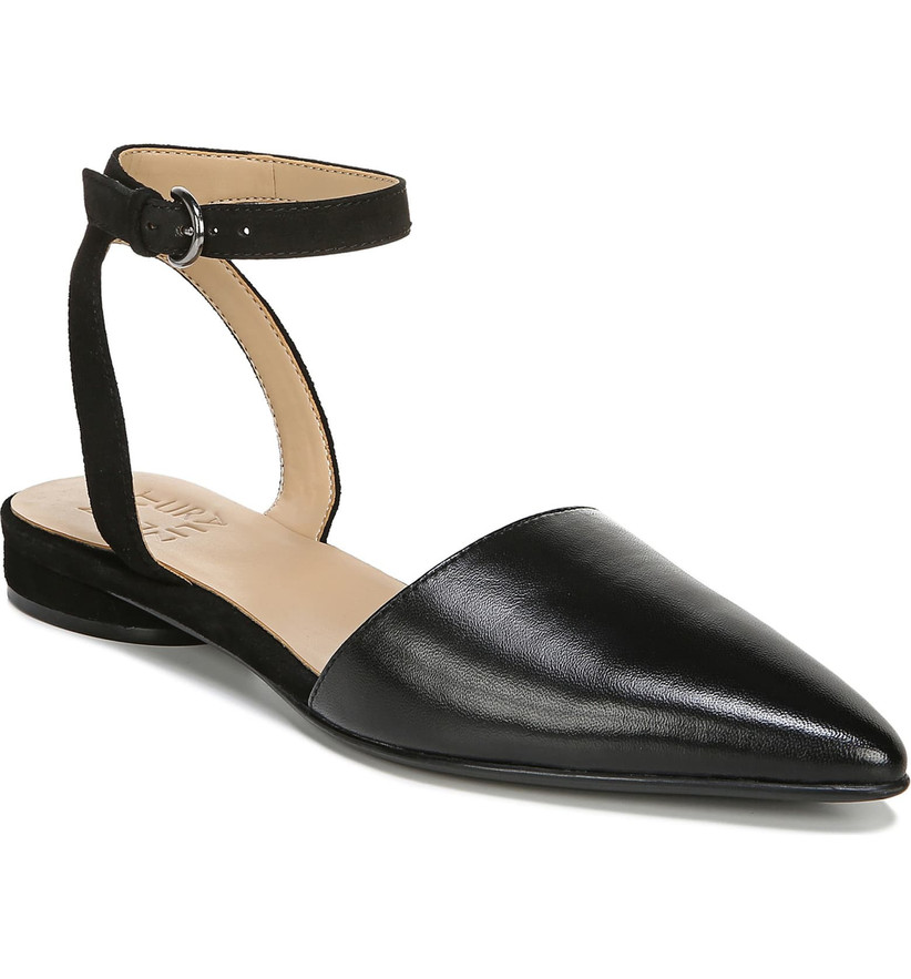 Wedding Guest Shoes flat with pointed toe
