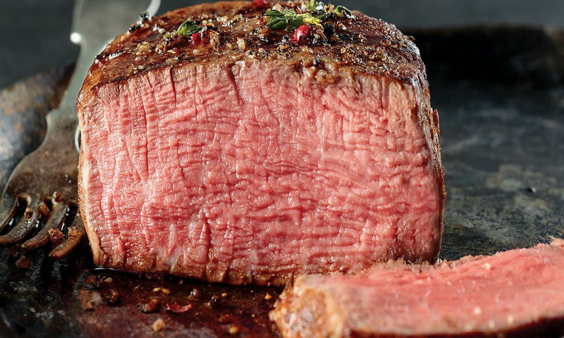 Delicious steak food gift subscription for couples