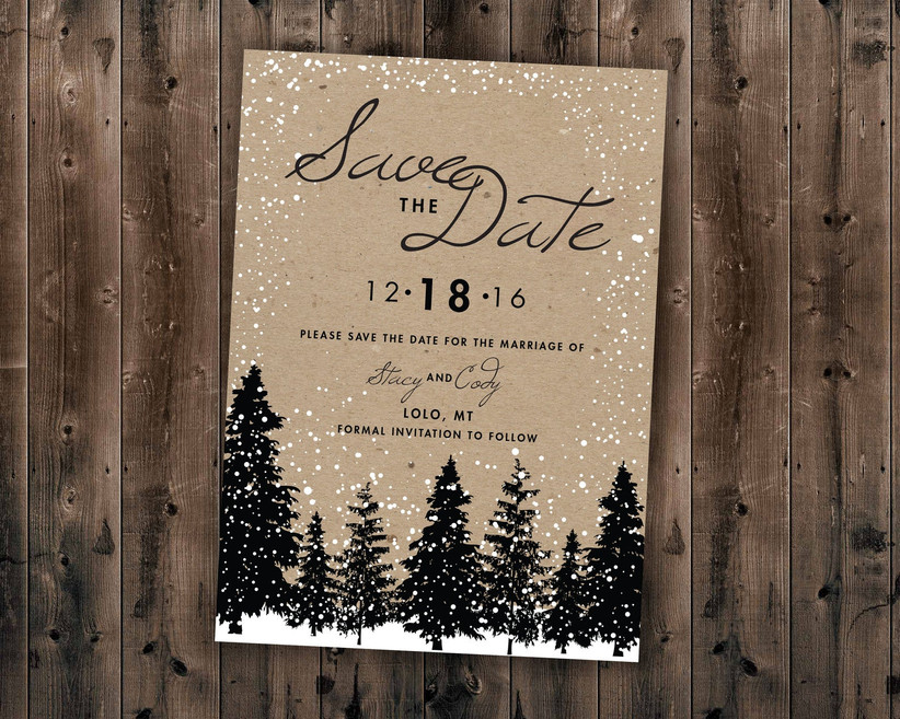winter save the dates