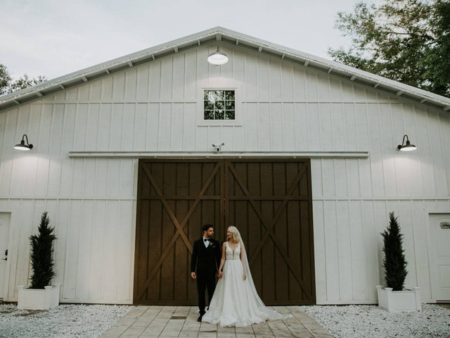 9 Rustic Barn Wedding Venues in Jacksonville, Florida