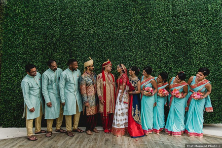 Indian Bridesmaid Dresses to Inspire Your 'Maids
