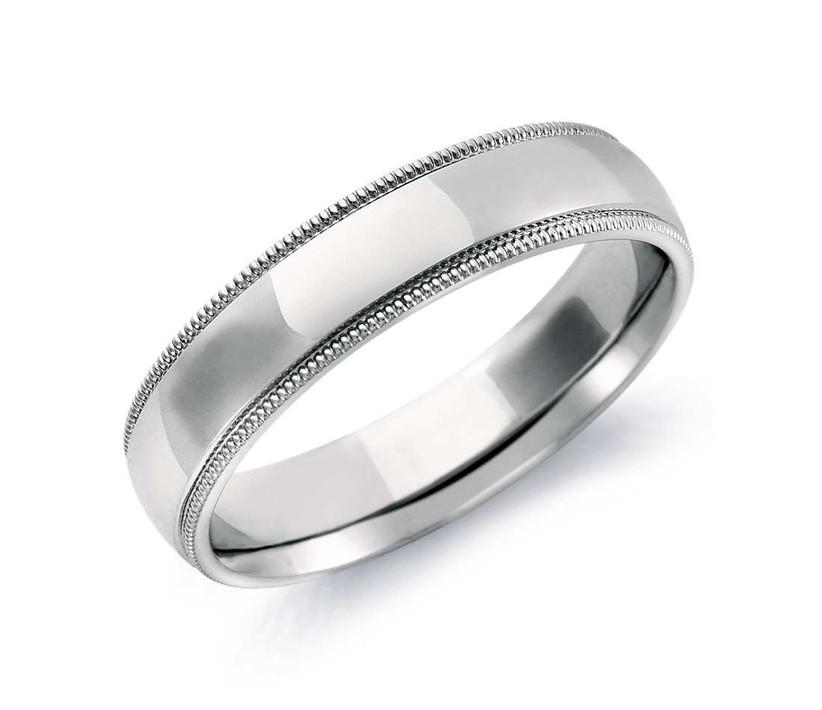 milgrain wedding ring