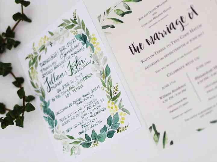 26 Wedding Announcements To Share Your Just Married News Weddingwire