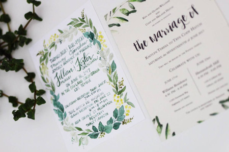 """26 Wedding Announcements to Share Your """"Just Married"""" News"""