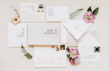 9 Wedding Invitation Trends You'll See More of in 2020