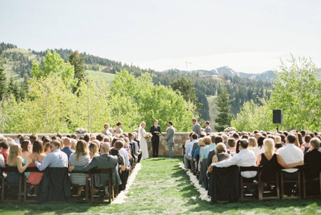 These Park City Wedding Venues Are the Epitome of Ski Resort Chic