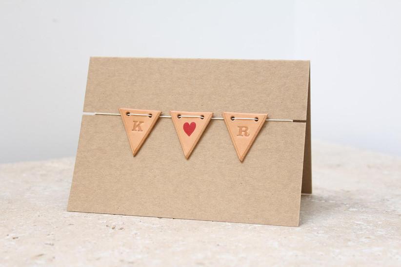 2021 wedding invitation trends 3D materials