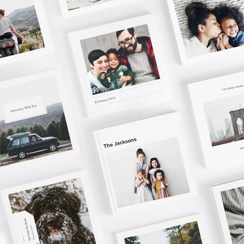 Custom photo book maid of honor proposal gift idea