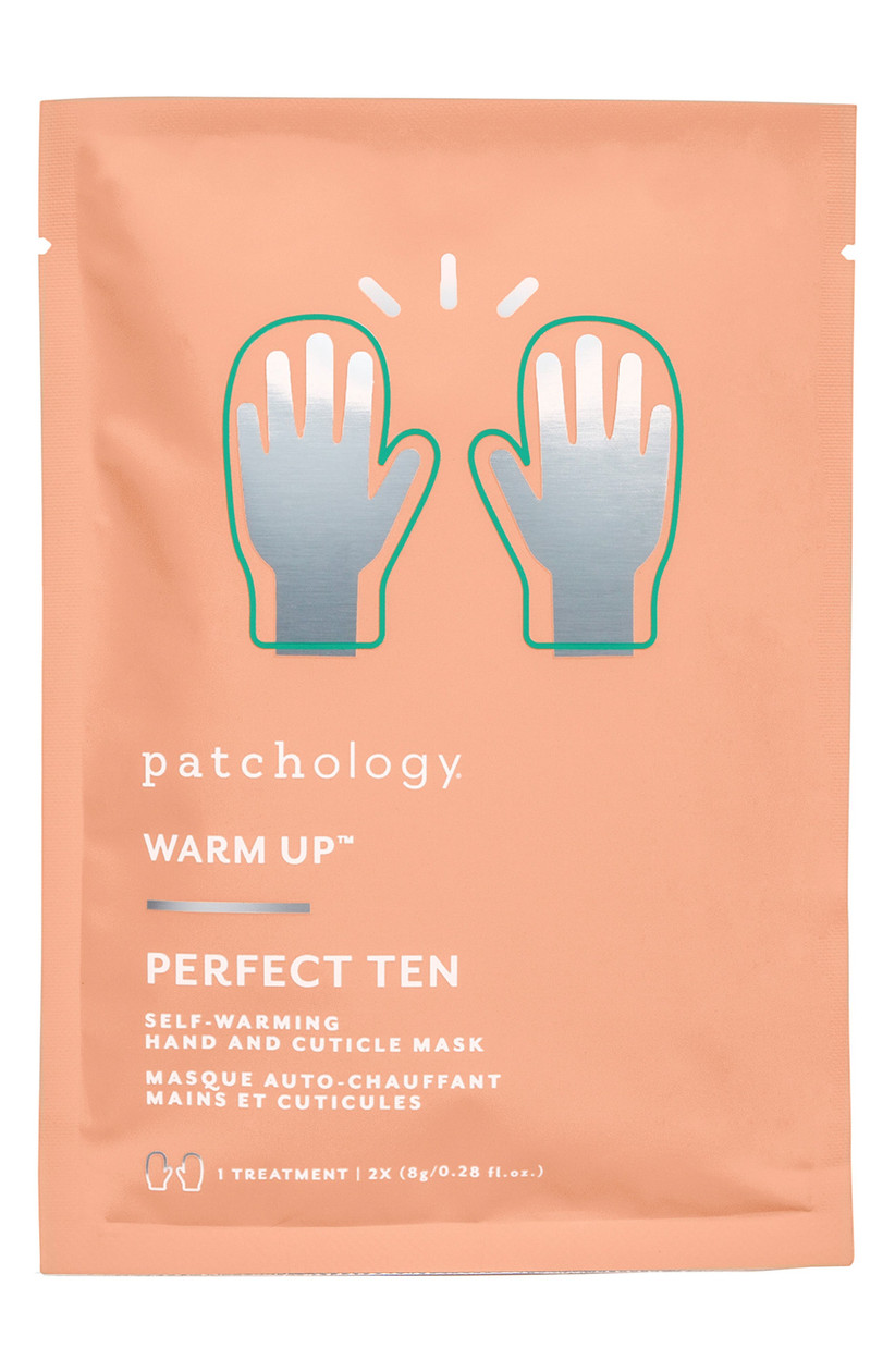 hand mask for at home manicure