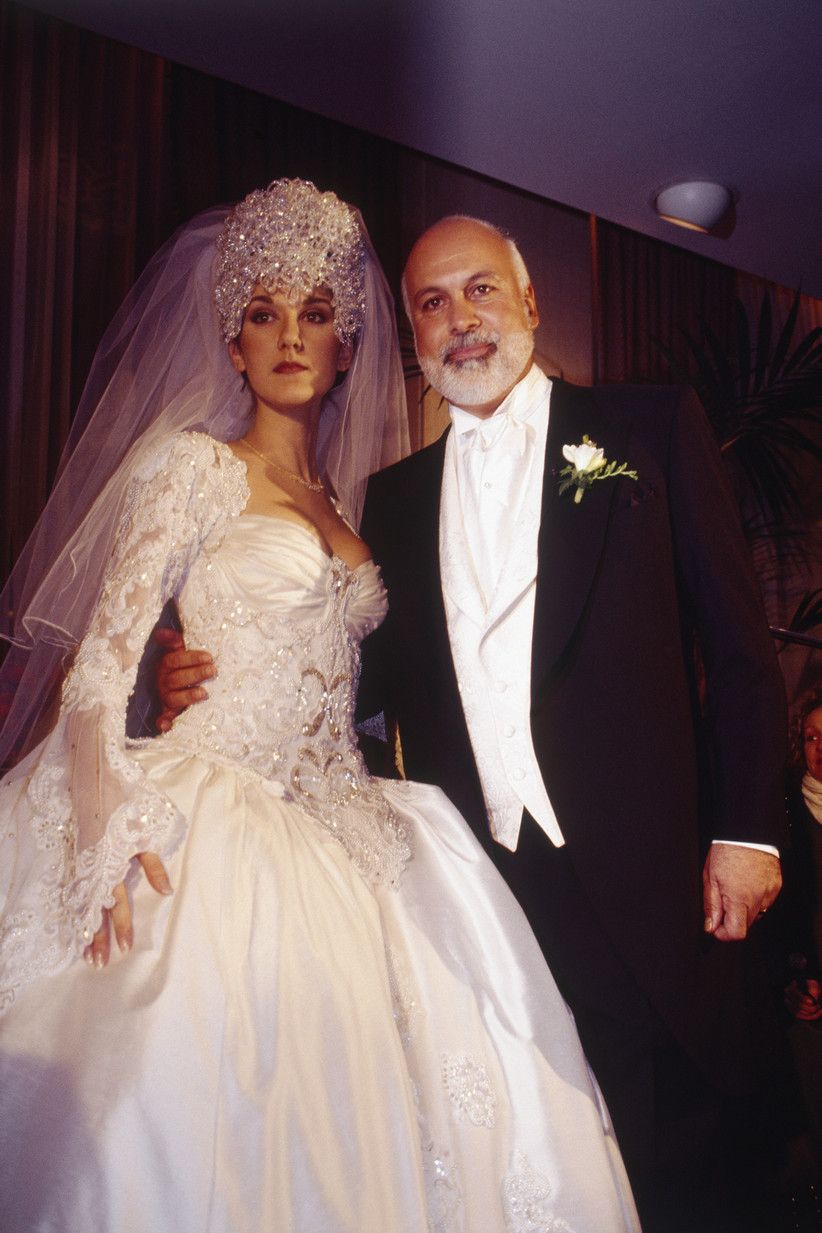 Céline Dion's wedding dress