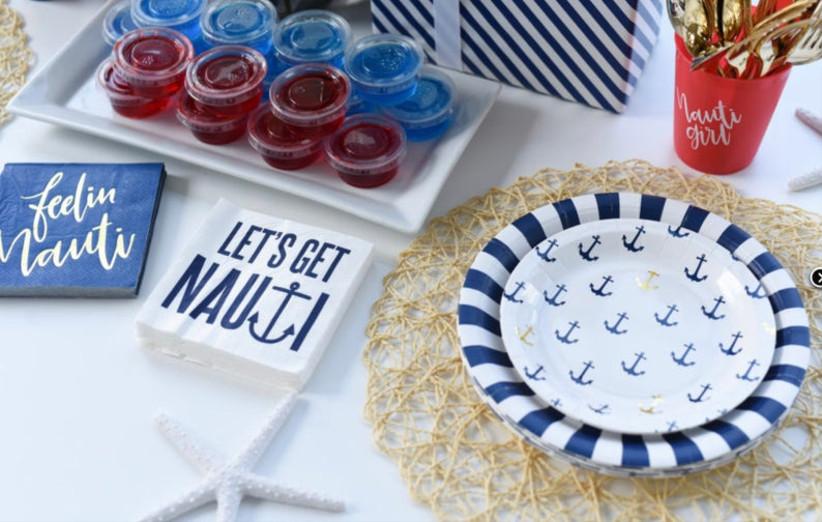 nautical tableware