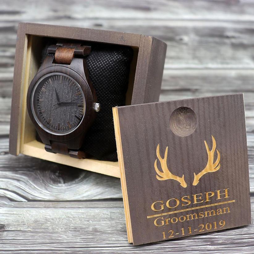 Groomsmen proposal watch
