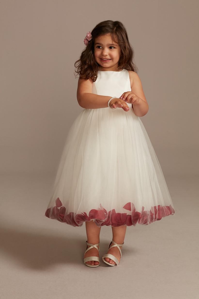 petal tulle davids bridal dress