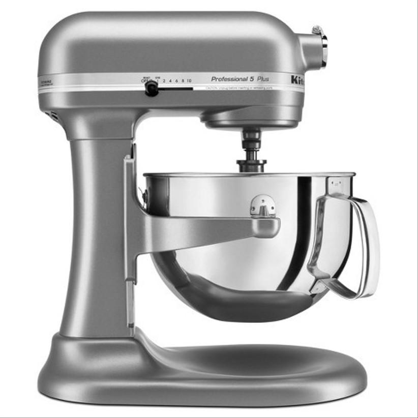 kitchenaid chrome stand mixer