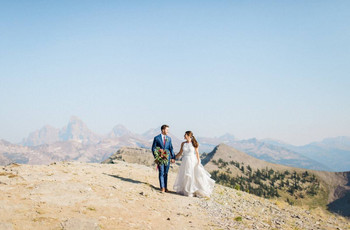 The Best U.S. Destinations for Mountain Weddings