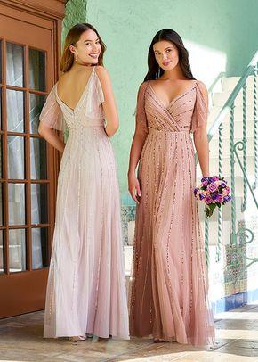 40323, Adrianna Papell Platinum Bridesmaid