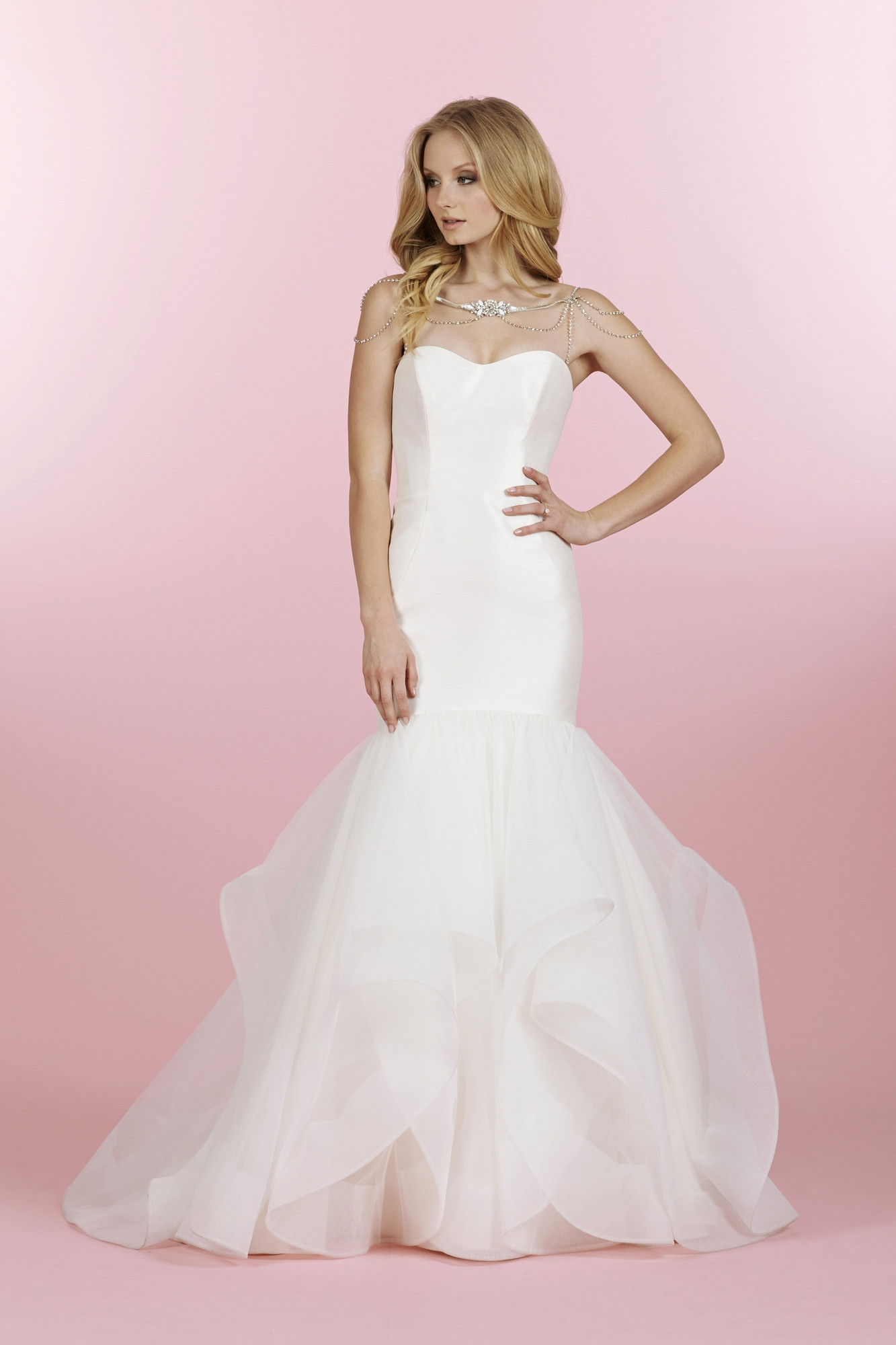 e65fd29cee5fe 1450/River Flared cut / Fit-n-Flare Wedding Dress by Blush by Hayley ...