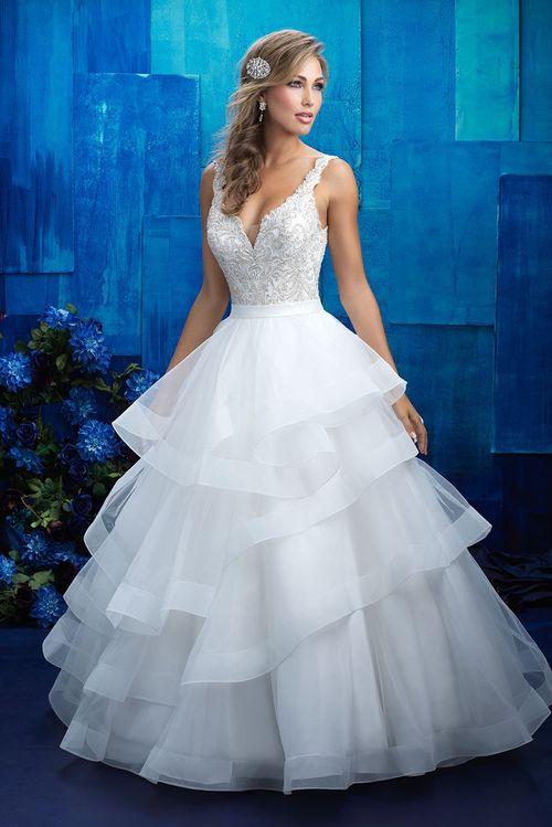9418, Allure Bridals