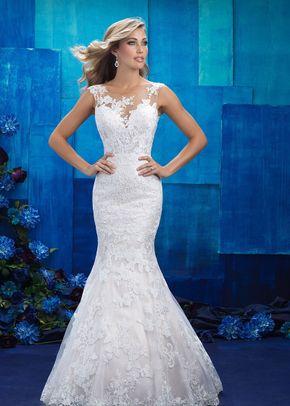 9422, Allure Bridals
