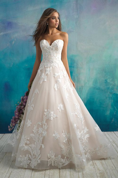 9502, Allure Bridals