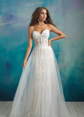 9523, Allure Bridals