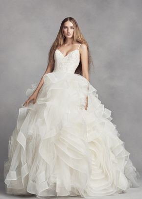 White by Vera Wang VW351371 SS, David's Bridal