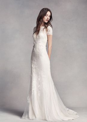 White by Vera Wang VW351312, David's Bridal