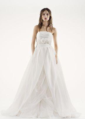 White by Vera Wang VW351178 SS, David's Bridal