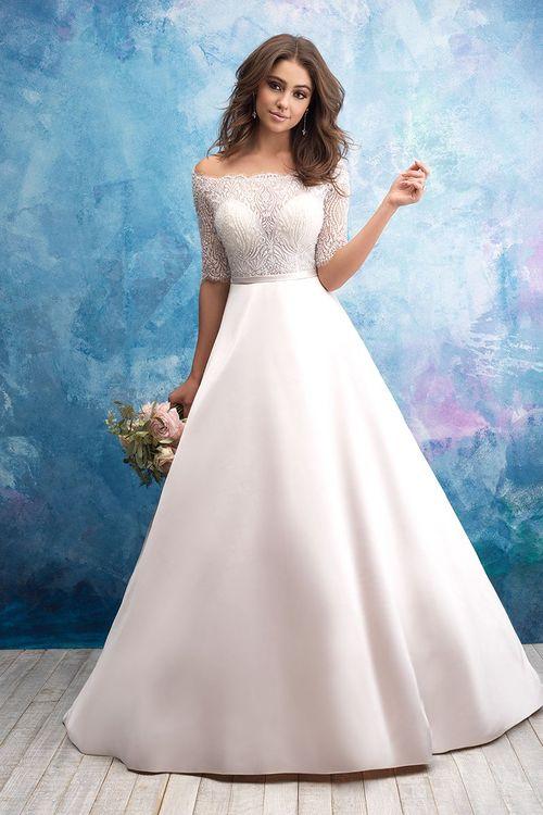 9553, Allure Bridals