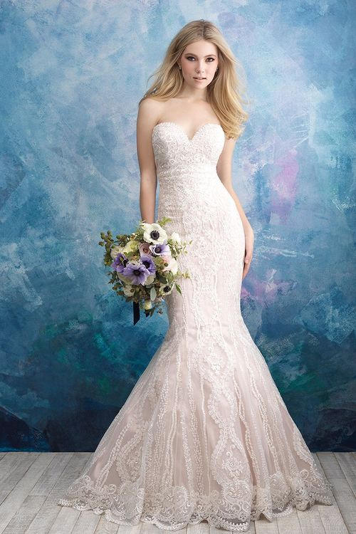 9574, Allure Bridals