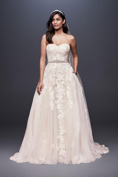 David's Bridal WG3861, David's Bridal