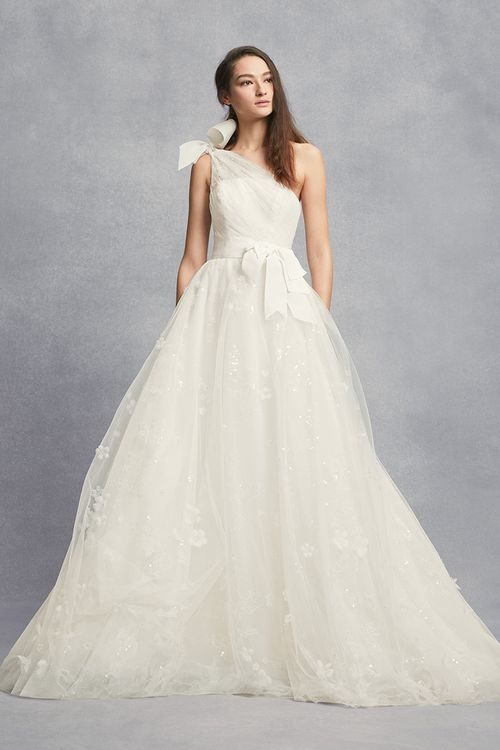White by Vera Wang Style 8VW351432, David's Bridal